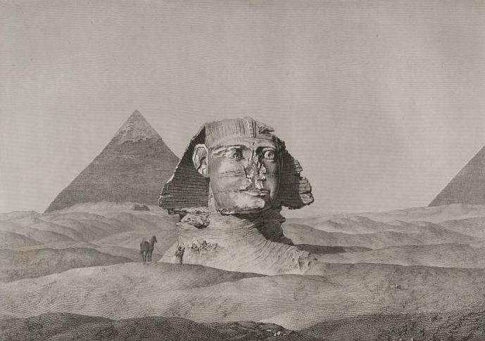 Photos Et Toiles Des Grandes Pyramides Et Du Sphinx